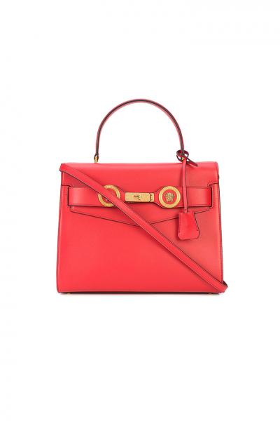 VERSACE - Červená kabelka do ruky aj na rameno  427b4bbfe59