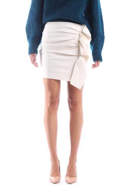 41afda3fffa7 VERSACE - Hodvábna sukňa s farebnou potlačou